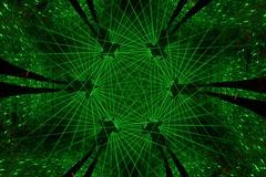 Laser web