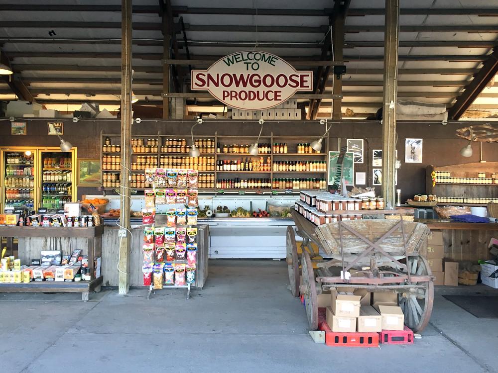 Snow Goose Produce 1