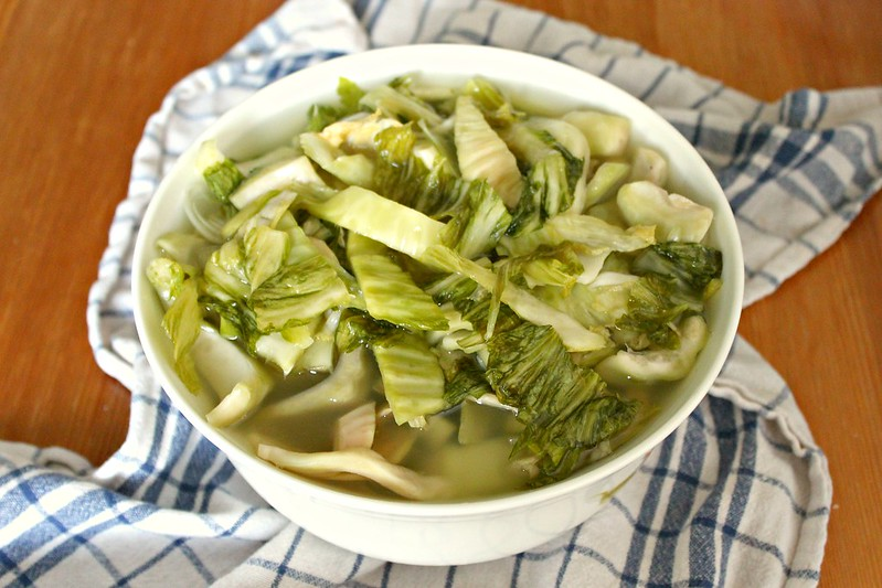 Pickled mustard cabbage