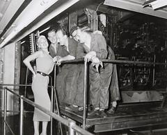 Jayne Mansfield bij De Telegraaf