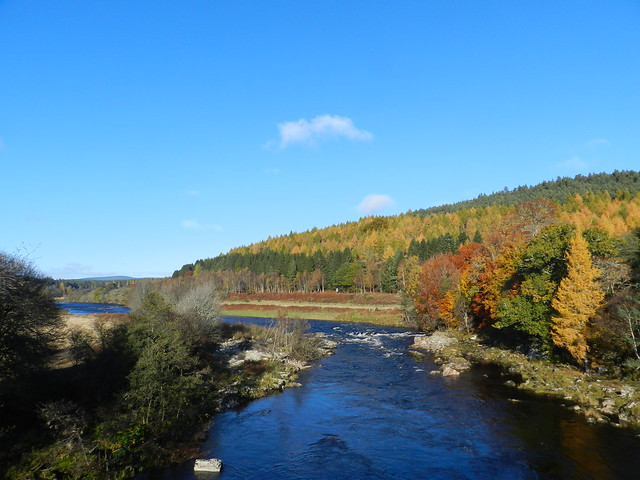 The River Dee, from, Nikon COOLPIX P500