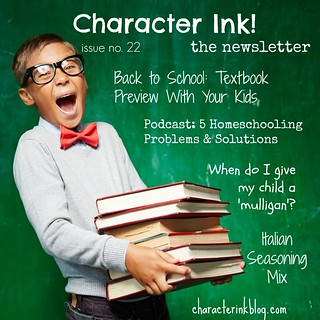 Character Ink Newsletter No. 22