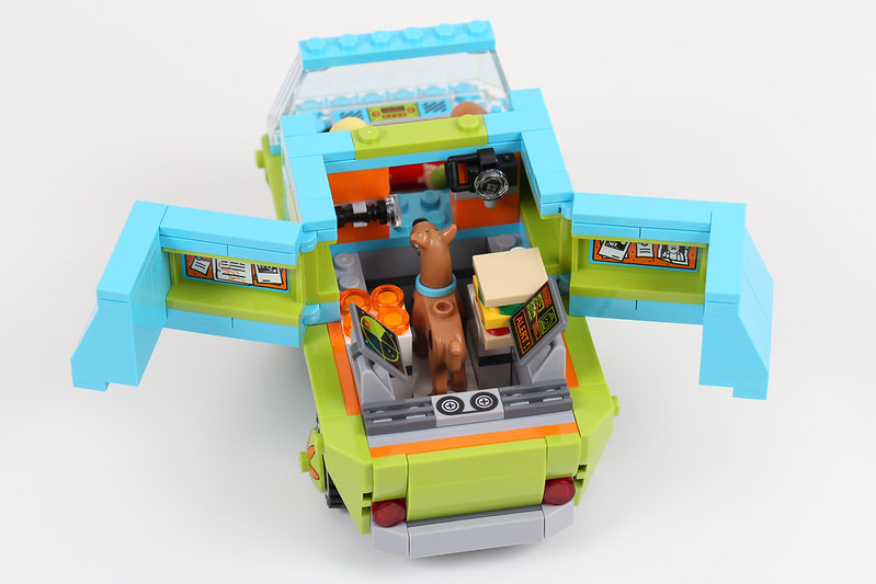 75092 mystery machine back