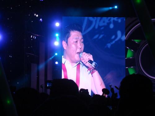 Psy in Busan Haeundae