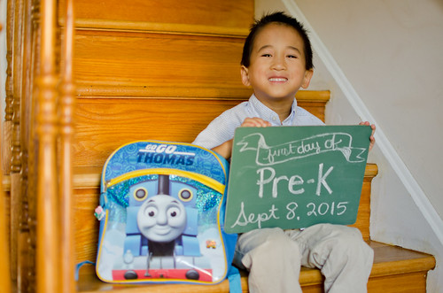 Elliot's First Day of Pre-K