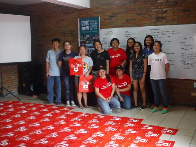 Last Batch of Silk Screen Printing of Hygiene Kit Bags