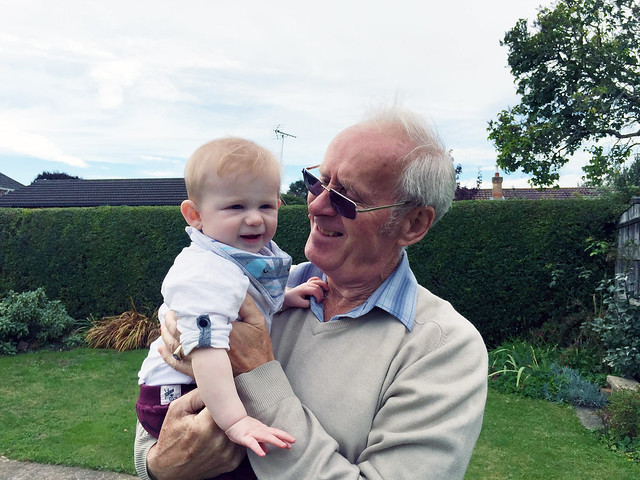 Zach and Great Grandad