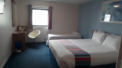 Family room at Travelodge London Stratford