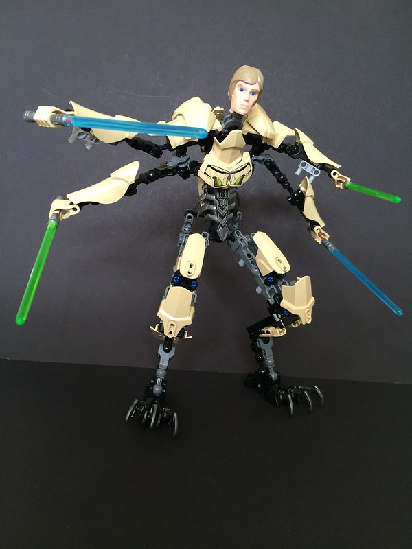Review 75112 General Grievous Lego Action Figures Eurobricks Forums