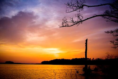 sunset blackwaternationalwildliferefuge churchcreekmd peacefulsunset