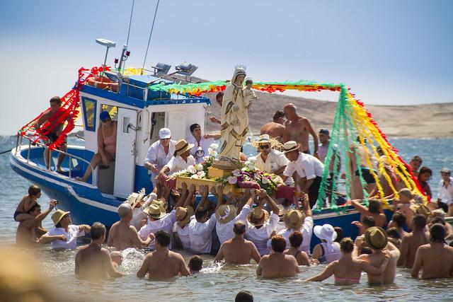 Romería Barquera El Médano 2015