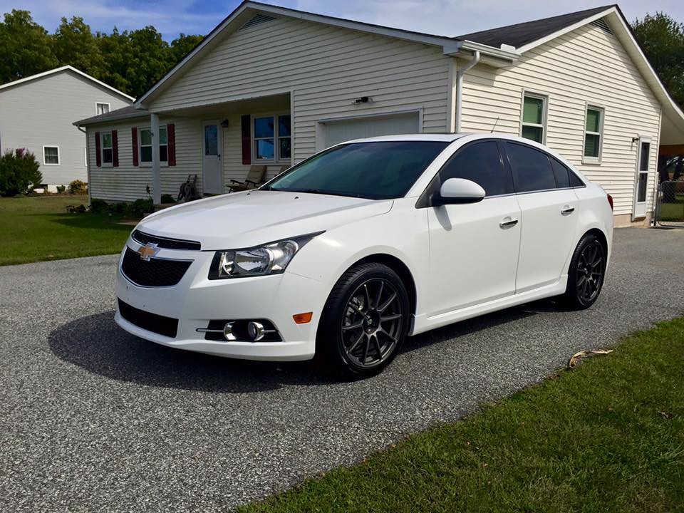new tires on the cruze. Black Bedroom Furniture Sets. Home Design Ideas