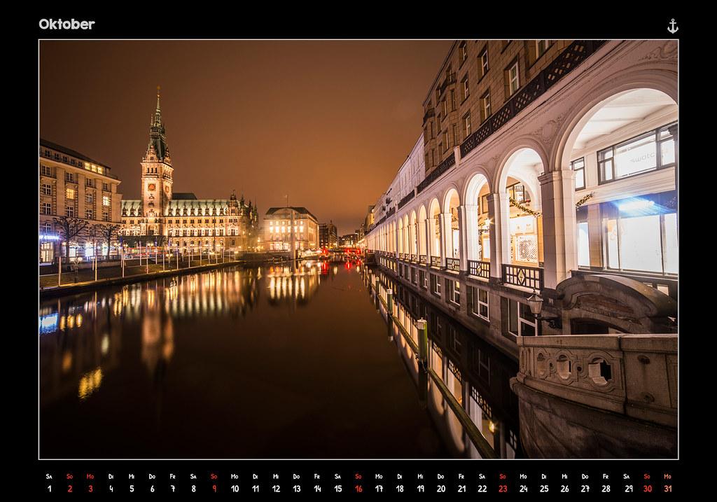 kalender2016_HAMBURG 2016 - FROM DUSK TILL DAWN - KALENDER // OKTOBER