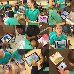#7Pgu kiddos getting ready for Round Square and Service Day. We are reading picture books to 19 six year olds from Murni Kidz. Then drawing book covers or portraits with them with #adobedraw! Exciting! #uwclearn #uwctech #uwcsea_east #uwcsea_service #rs20