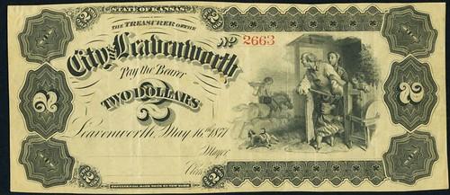 Lot 19368 Leavenworth, KS - City of Leavenworth $2