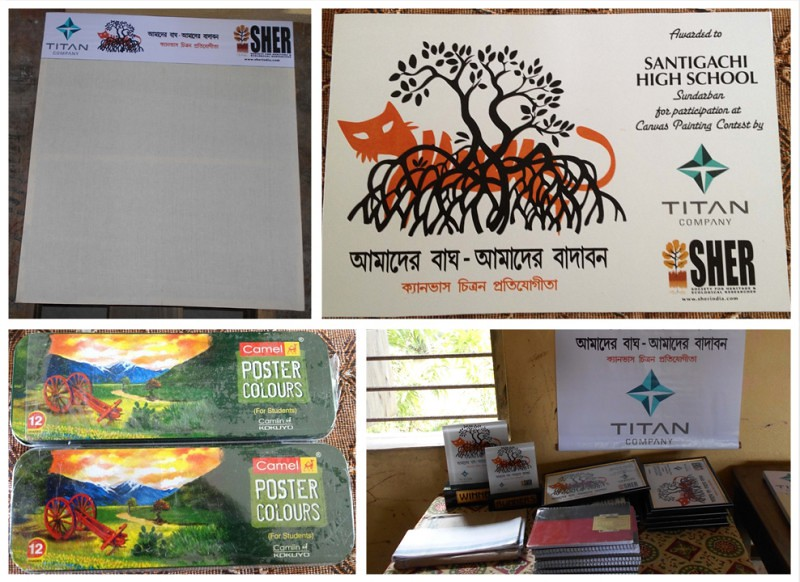 Painting Competition by SHER India - Sundarban, India
