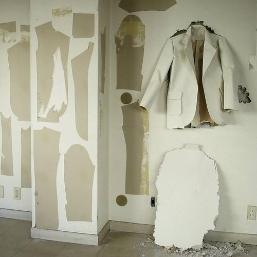 壁紙で縫製
