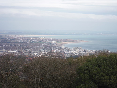 Eastbourne from the Downs