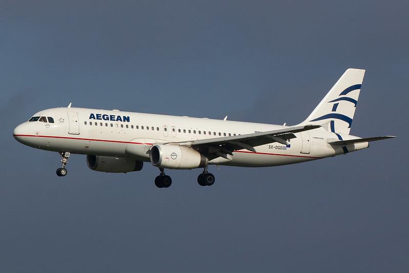 Aegean Airlines - A320 - SX-DGO (1)