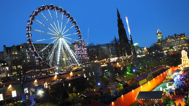 Princes Street Gardens decked out for festive season