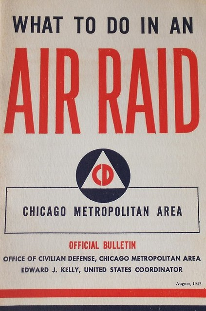 Air Raid - Chicago - 1942