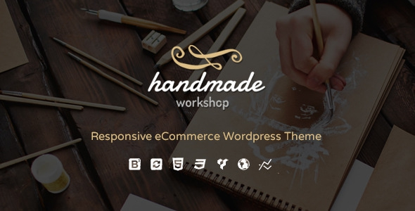 Handmade v3.3 – Shop WordPress WooCommerce Theme