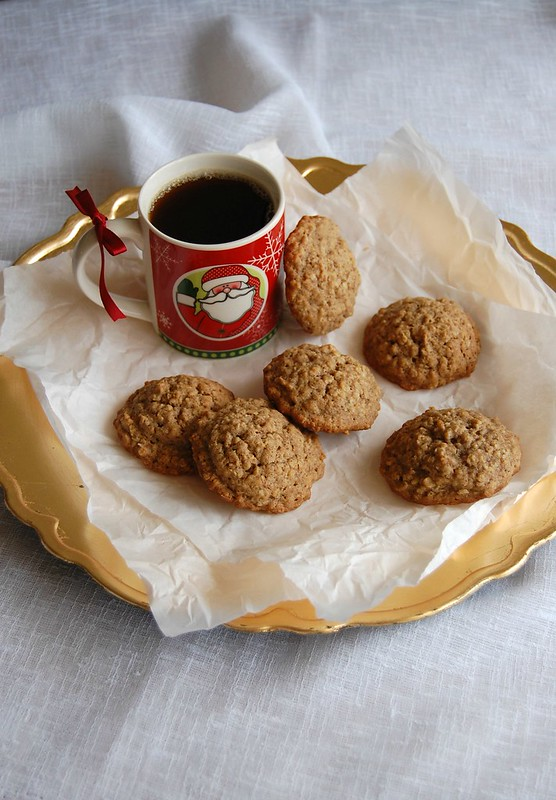 Gingerbread pepper cookies / Cookies de gingerbread com pimenta do reino