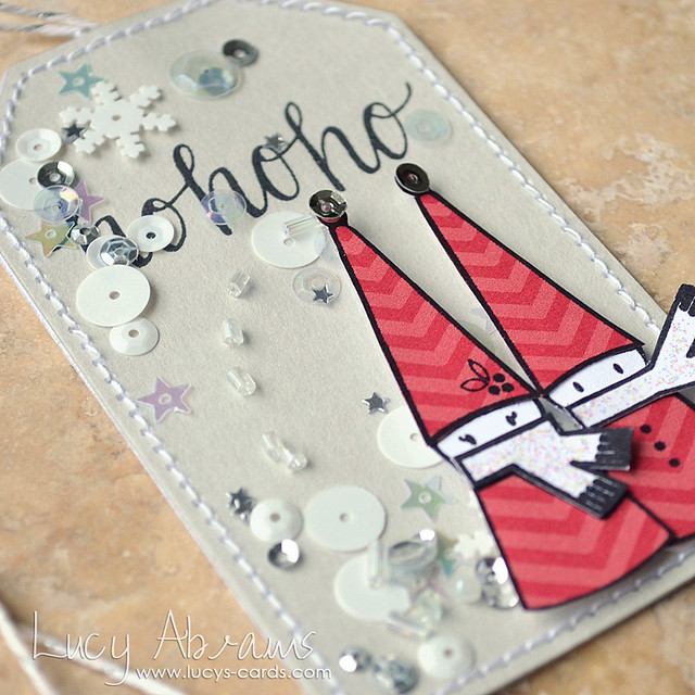 HoHoHo Tag by Lucy Abrams