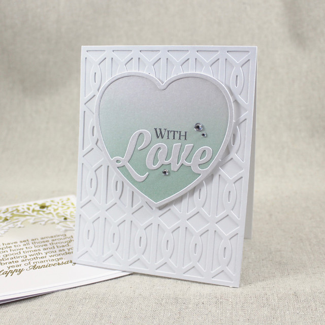 With Love Wedding Card