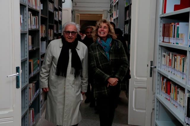 Conversano- Stefania Craxi visita la Fondazione di Vagno presieduta da Gianvito Mastroleo  (5)