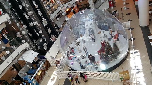 Life-Sized Christmas Snow Globe, Market City, Chinatown, Sydney