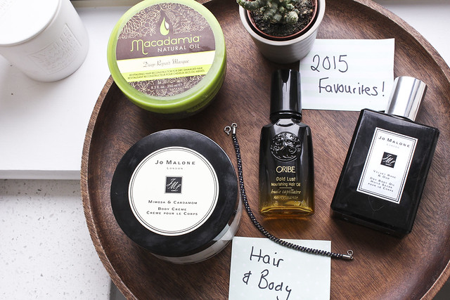 hair & body 2015 favourites