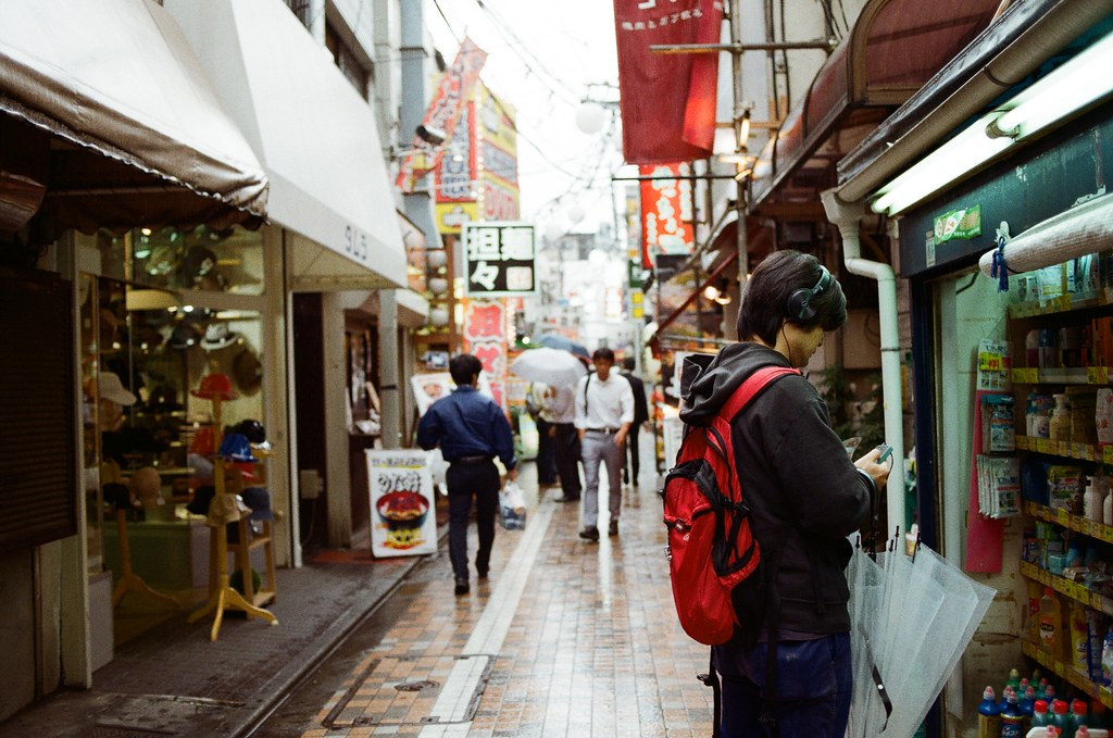 吉祥寺 Tokyo, Japan / Kodak ColorPlus / Nikon FM2