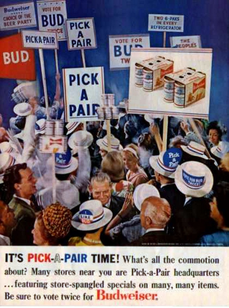 1964-Its-Pick-A-Pair-Time-Budweiser