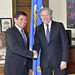 Secretary General Meets with former President of Peruvian Congress