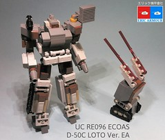 UC RE096 E.F.S.F. ECOAS Special Task Force D-50C LOTO Ver. EA