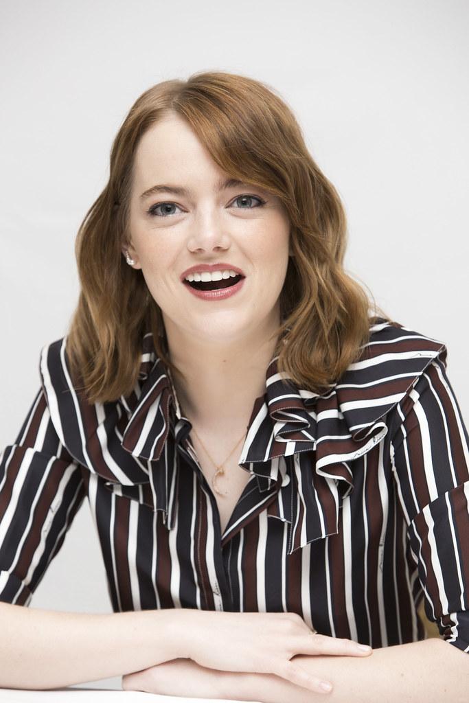 Эмма Стоун — Пресс-конференция «Ла-Ла Ленд» на «TIFF» 2016 – 49