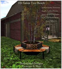 DD Salem Tree Bench Vendor