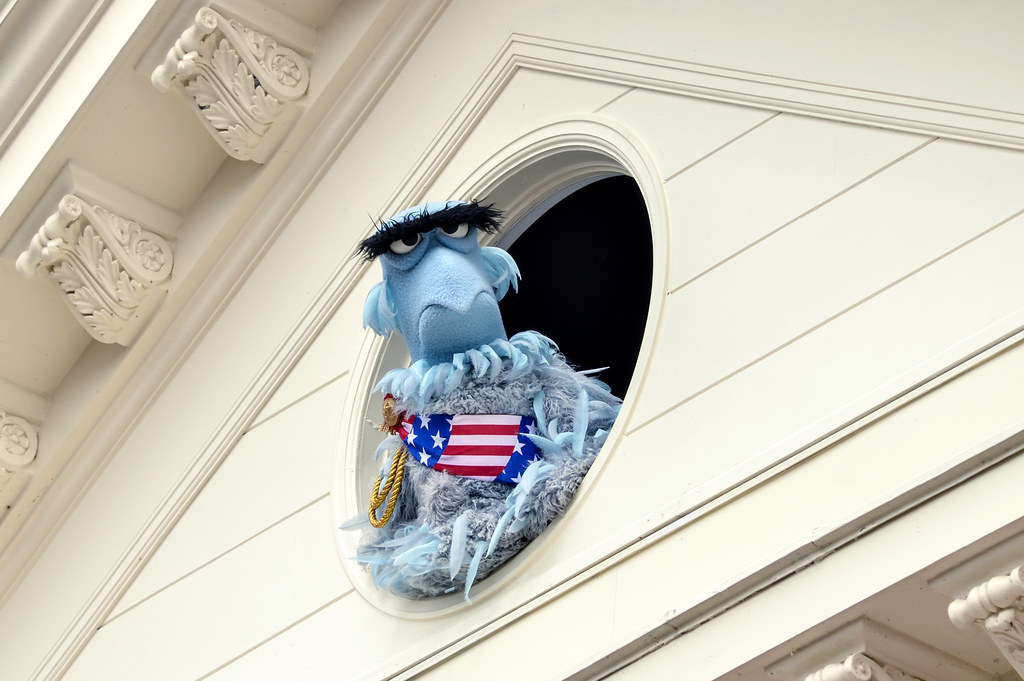 Muppets Sam the Eagle