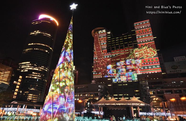 2016新北市耶誕城板橋車站景點23
