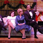 I'll Be Home for Christmas 2016, Credit P. Switzer Photography - Andrew Diessner (Len), Sharon Kay White (Carol Marie), Megan Van De Hey (Louise Bright) and Noah Racey (Dana Bright)