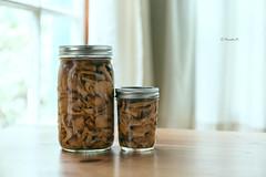 Pickled Chanterelle Mushrooms
