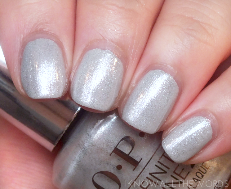 OPI Infinite Shine Soft Shades 2015 Go To Grayt Lengths
