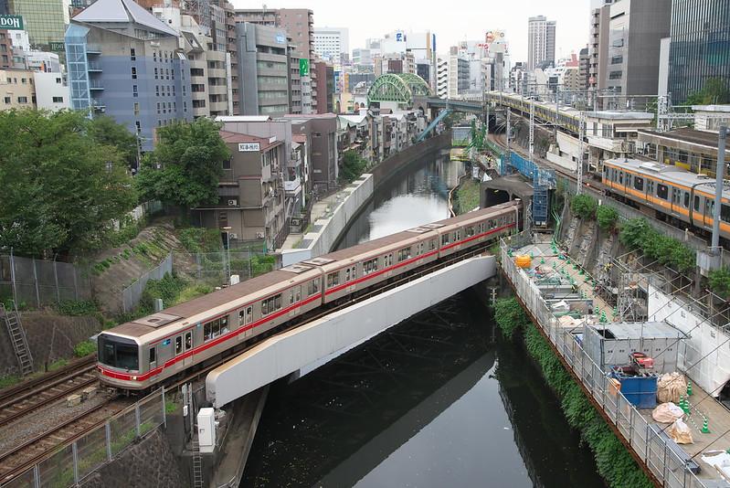 Tokyo Train Story 丸ノ内線 2015年9月3日