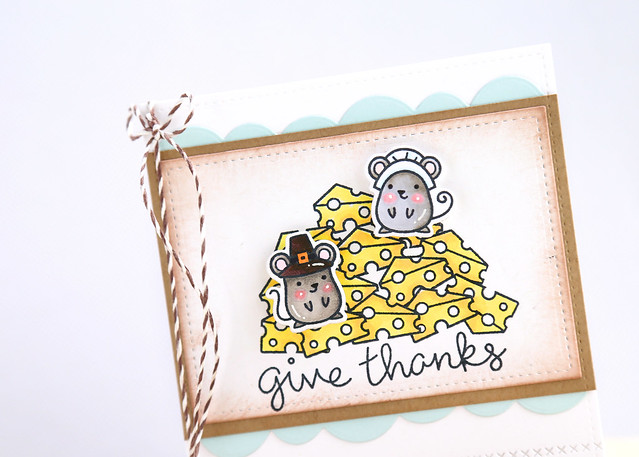 thankful mice {lawn fawn}