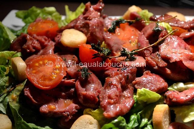 Salade de Gésiers de Canard Confits © Ana Luthi Tous droits réservés 009