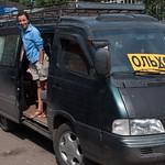 Minibús a Oljón