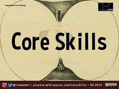 Core Skills on the Social Web (Slideshare Presentation 09.2015)