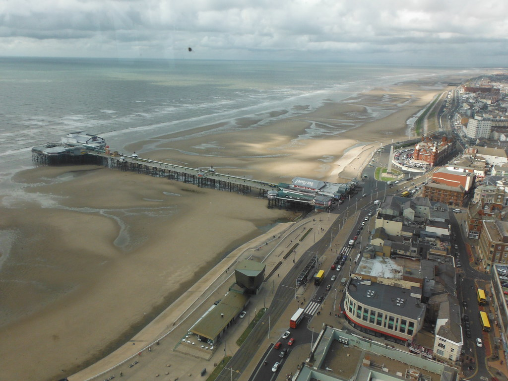 View From Blackpool Tower 1
