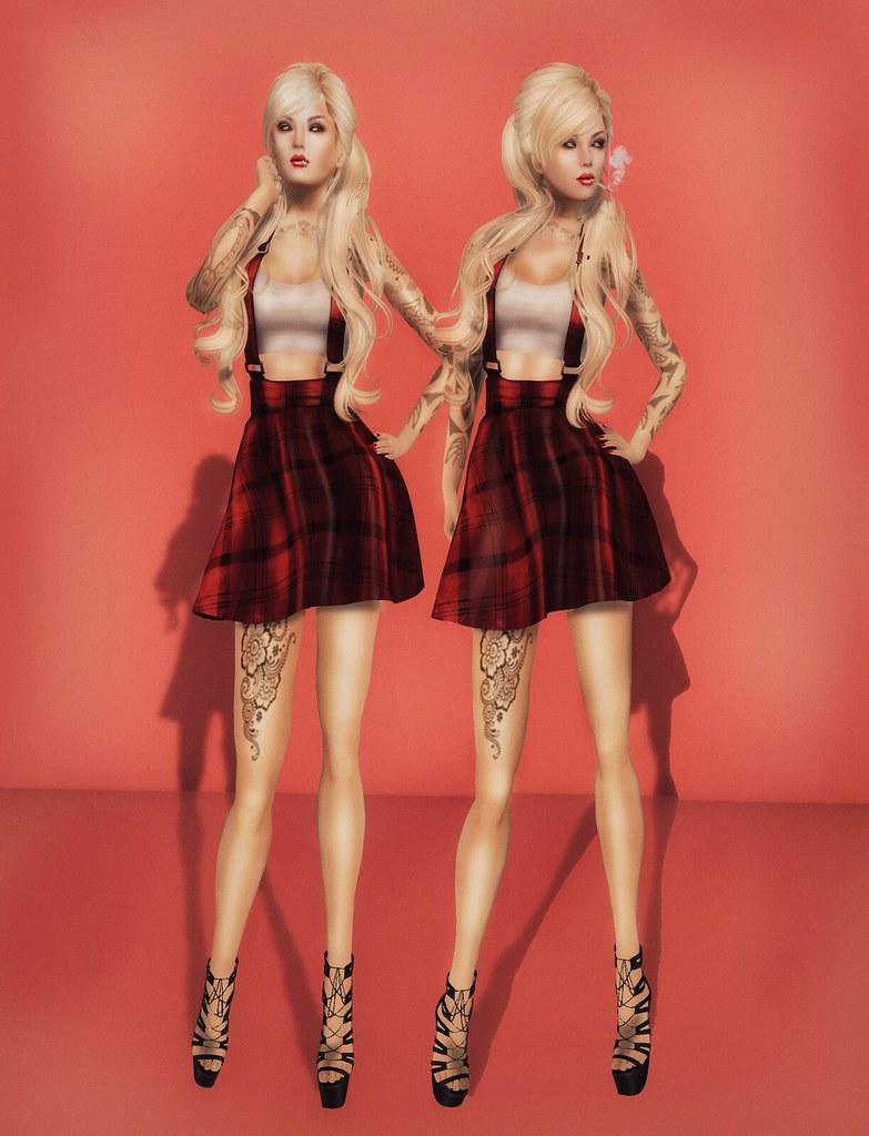 GIA Style Card// Truant schoolgirl